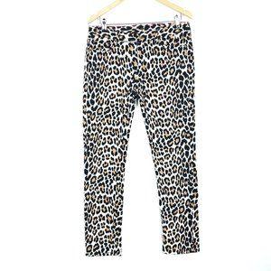 Kate Spade Autumn Broome Street Leopard Jeans